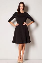 Dámske šaty Figl M235 čierne