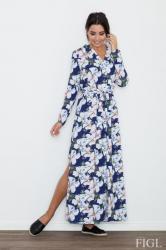 Dámske šaty Figl M567-71