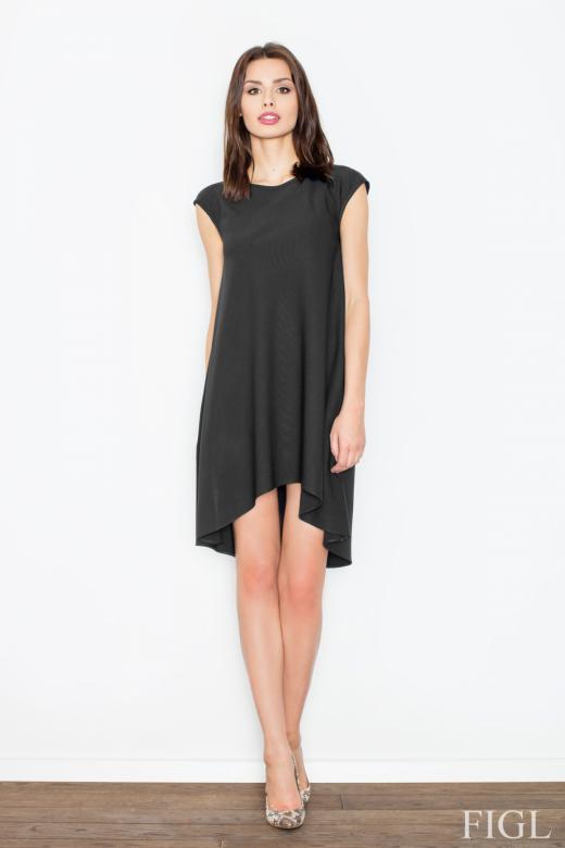 2cc8dedee Dámske šaty fígľov M450 čierne - FIGL (Šaty, sukne - Dámske oblečenie)