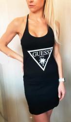 Dámske šaty GUESS E02I02 černá