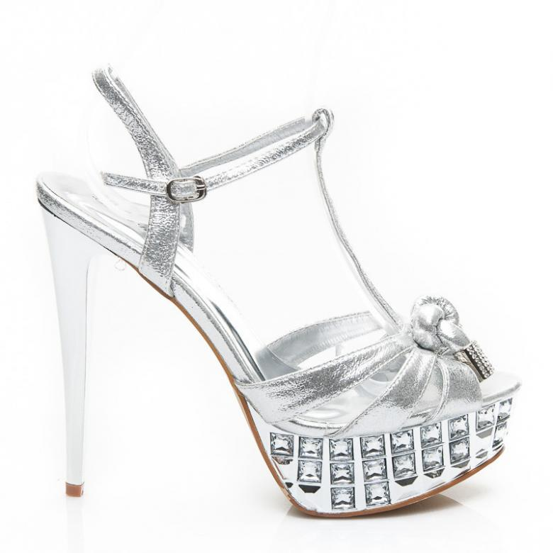9c0f68d51552 Otázky k produktu Dámske strieborné sandále Belle Women 99637S ...