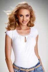 Dámske tričko Eldar Regina bielej