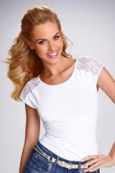Dámske tričko Eldar Tosca bielej