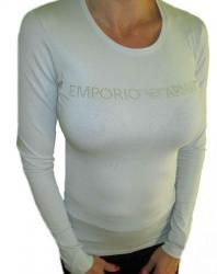 Dámske tričko Emporio Armani 163229 8A263 svetlo šedej