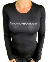 Dámske tričko Emporio Armani 163229 8A317 čierne