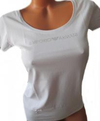 Dámske tričko Emporio Armani 163377 9P263 bielej