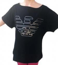 Dámske tričko Emporio Armani 164008 čierne