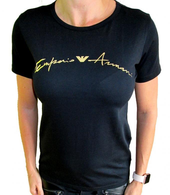 ba627f61a649 Dámské tričko Emporio Armani 164141 8A255 - Emporio Armani (Tričká ...