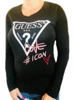 Dámske tričko Guess O94I11 černé