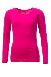 Dámske tričko s dlhým rukávom O'STYLE 6452 ružové
