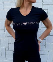Dámske triko Emporio Armani 163321 1P227 černá