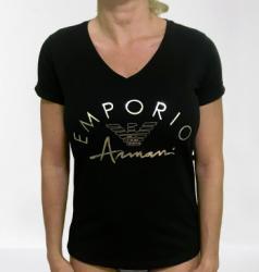 Dámske triko Emporio Armani 164334 0P291 čierna