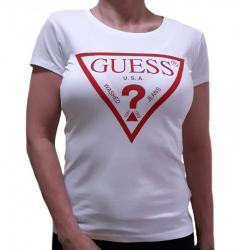 Dámske triko Guess O94I02 bílá