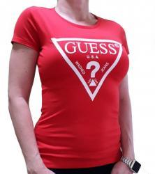 Dámske triko Guess O94I02 červená