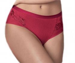 Dámske vyšší nohavičky Lisca 22166 červené