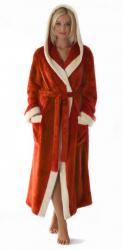 Dámsky dlhý župan s kapucňou Vestis 3920 Venice