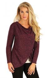 Dámsky sveter s dlhým rukávom Litex 55028