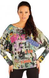 Dámsky sveter s netopierími rukávom Litex 87374