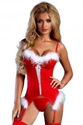 Dámsky vianočný kostým Livia Christmas Angel