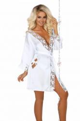 Dámsky župan Beauty night fashion Ambrosia biely