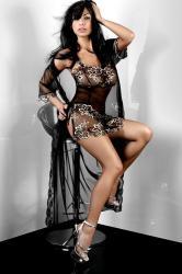 Dámsky župan Livia Corsetti Hera Dressing Gown