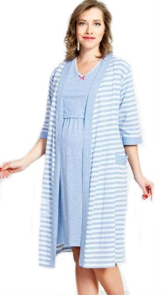 e0346c9d2132 Otázky k produktu Dámsky župan s materskou košeľou Vienetta Secret ...