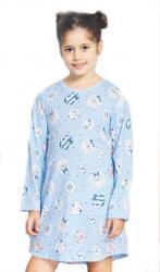 Detská nočná košeľa s dlhým rukávom Vienetta Secret Kitty