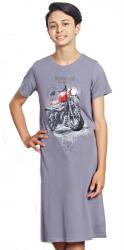 Detská nočná košeľa s krátkym rukávom Motorka