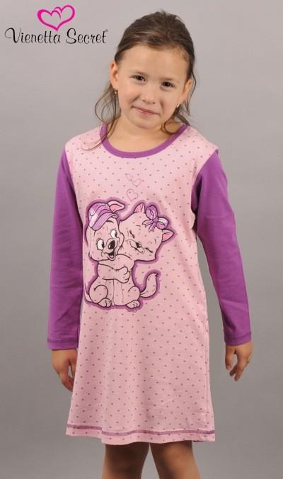 0ecf480c26f1 Detská nočná košeľa Vienetta Secret Pes a mačka - výpredaj ...