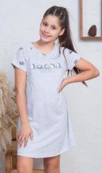 Dětská noční košile s krátkým rukávem Vienetta Secret Ježci