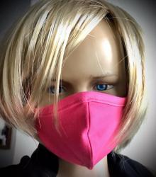 Detská očová rouška-ochranná růžová