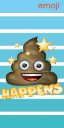 Detská osuška Jerry Fabrics Emoji Happens