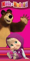 Detská osuška Jerry Fabrics Máša a medveď 012