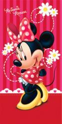 Detská osuška Minnie red 75x150 cm