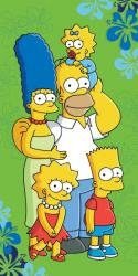 Detská osuška Simpsons 2016