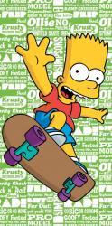 Detská osuška Simpsons Bart green 2016