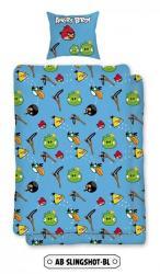 Detské bavlnené obliečky - Angry birds Slingshot BL