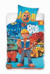 Detské bavlnené obliečky Bob Staviteľ