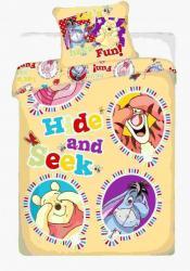 Detské bavlnené obliečky Disney Macko Pu balloon