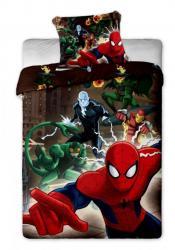 Detské bavlnené obliečky Disney Spiderman brown