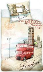 Detské bavlnené obliečky fototlač London bus