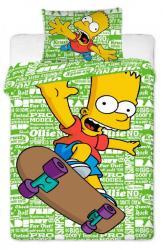 Detské bavlnené obliečky Simpsons Bart green 2016