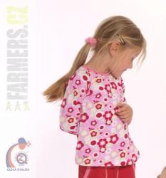 Detské bavlnené tričko Farmers Flowers