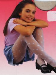 Detské pančuchové nohavice Novia - Miki vzorované