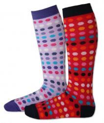 Detské podkolienky Design Socks - bodka