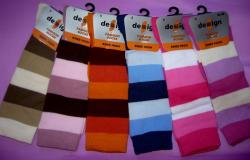 Detsk� podkolienky Design Socks pr�ok
