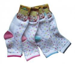 Detské ponožky Novia puntík 3 páry