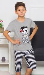Detské pyžamo bermudy Vienetta Secret Pirát