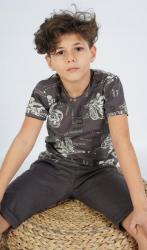 Detské pyžamo bermudy Vienetta Secret Samuel