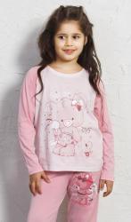 Detské pyžamo dlhé Vienetta Secret Koala s mašľou